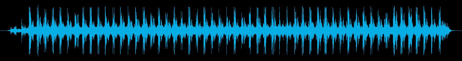 ミシン 01の再生済みの波形