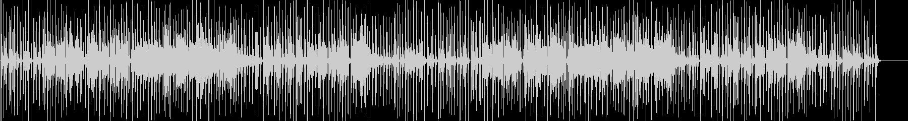まぬけな音楽 ふざけた感じ 下手な演奏の未再生の波形