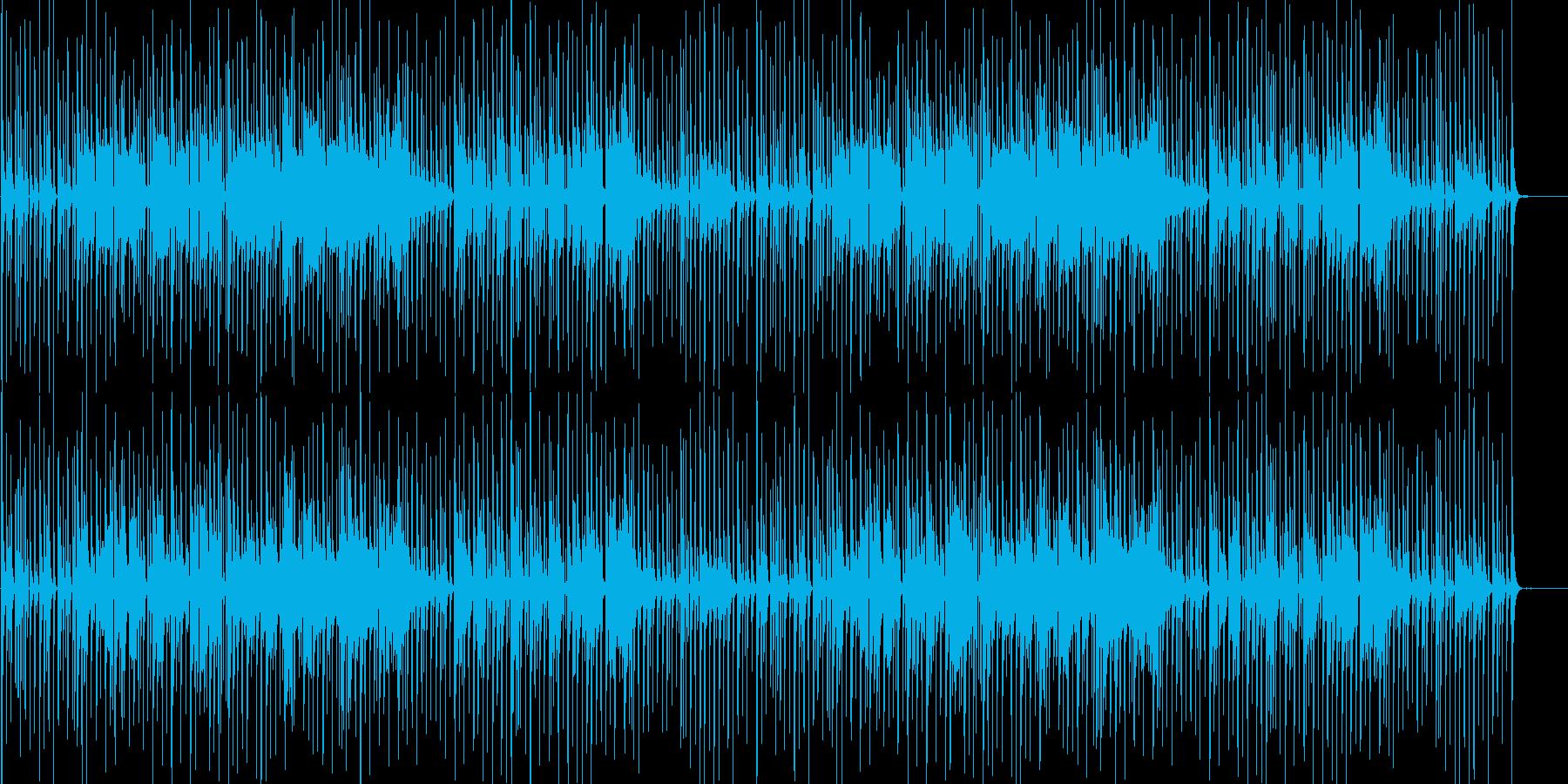 まぬけな音楽 ふざけた感じ 下手な演奏の再生済みの波形