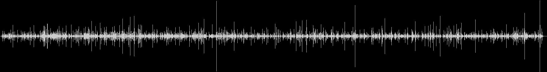 タイピング音(キーボード×3人)1分間の未再生の波形