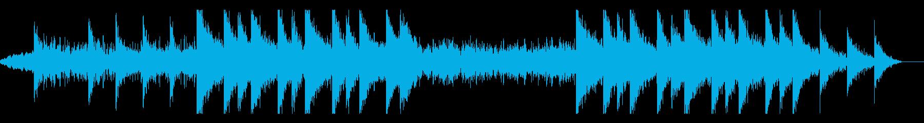 緊張感あるシネマティックの再生済みの波形