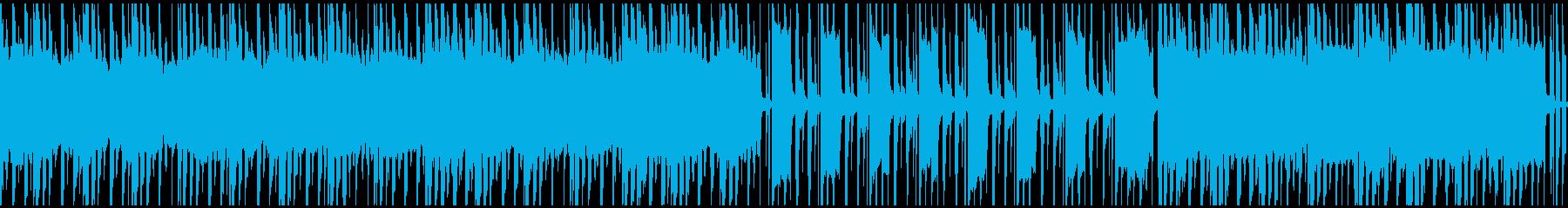 ループ仕様、ほのぼの、のんびりの再生済みの波形
