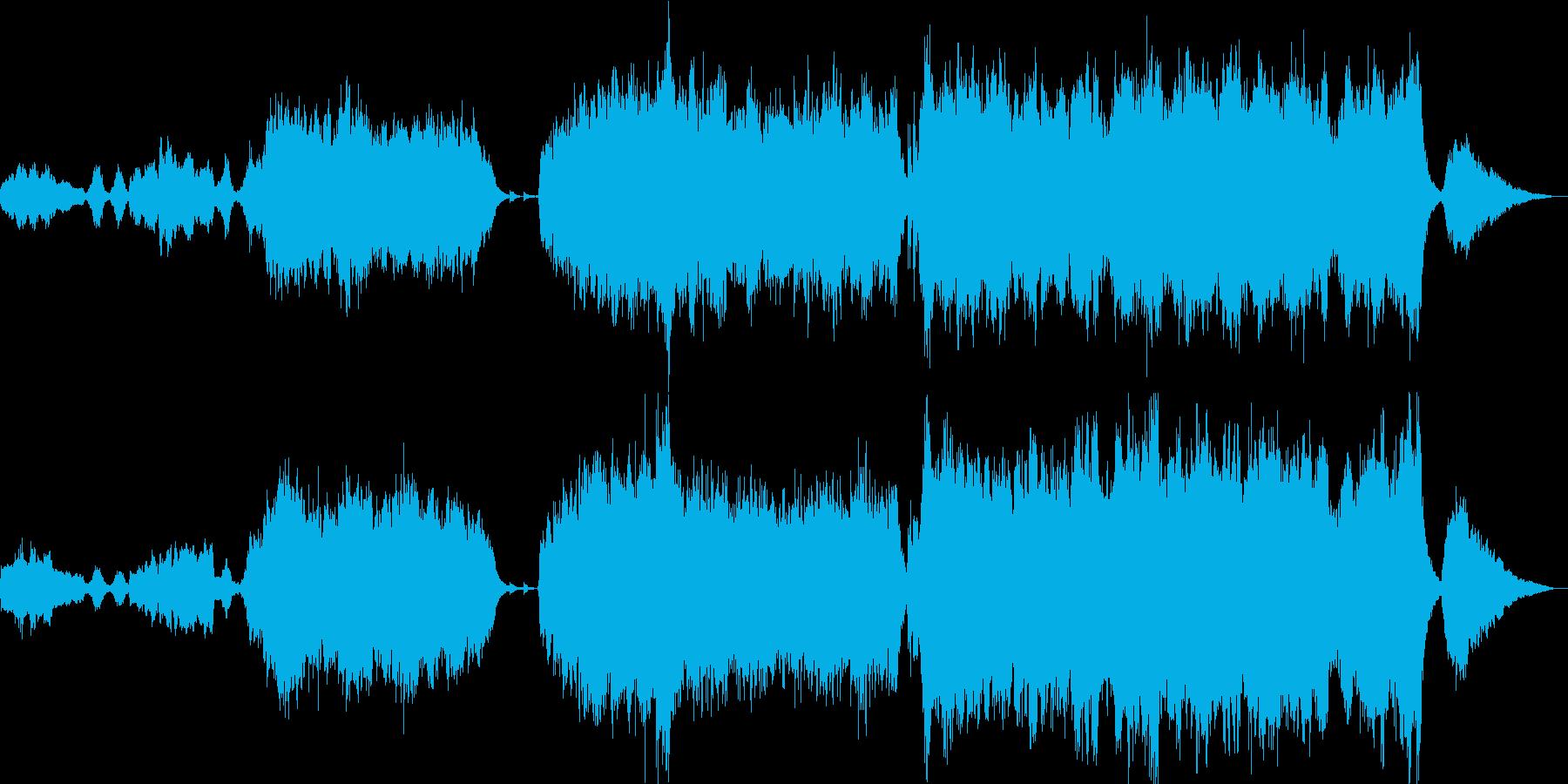 感動的なファンタジーRPG オープニングの再生済みの波形