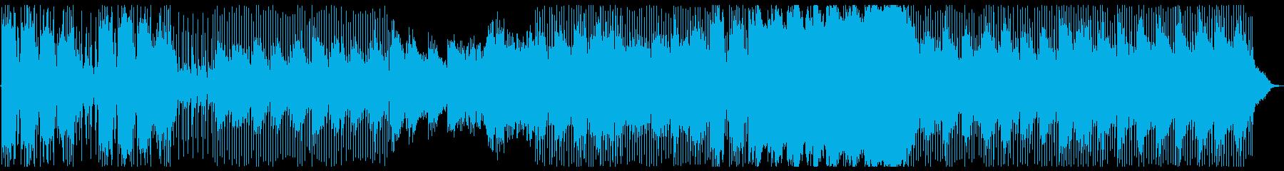 リズミカルに忙しいイントロは、より...の再生済みの波形