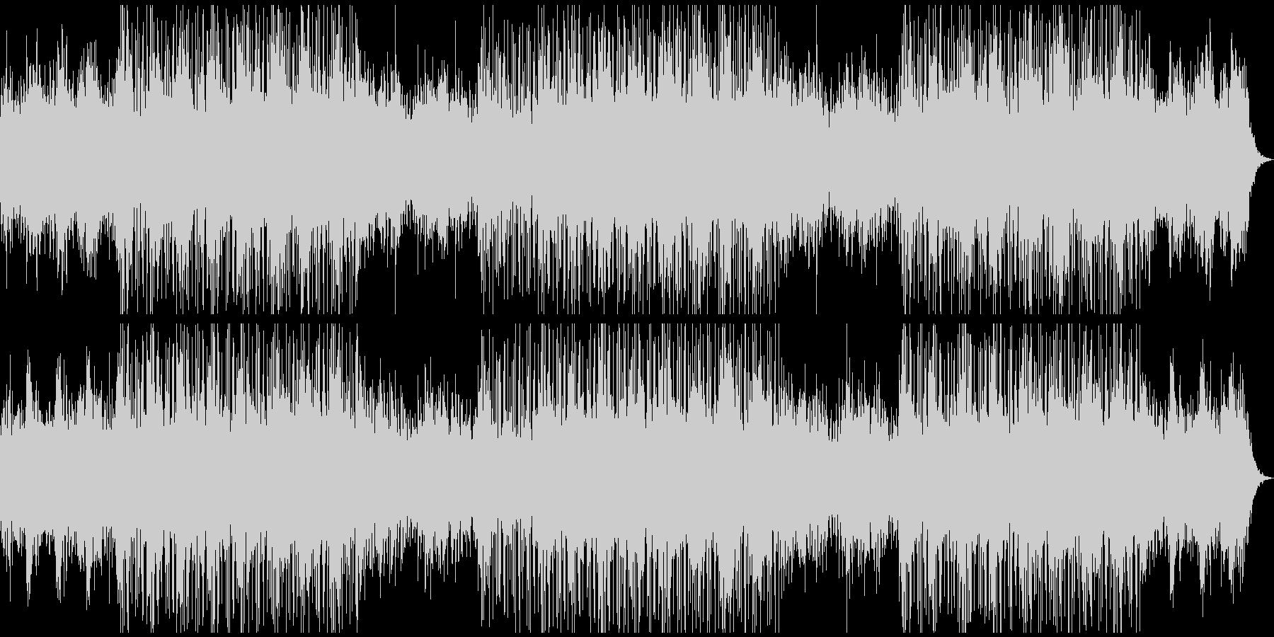 アコースティックピアノの未来的音楽の未再生の波形