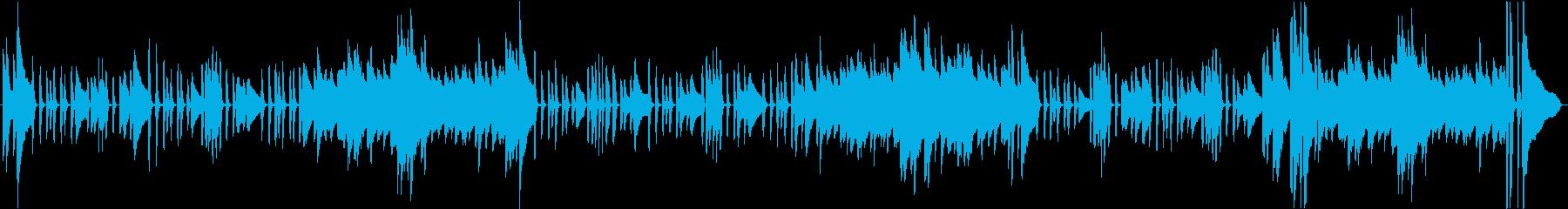 伝統的なブルターニュの船乗りの歌が...の再生済みの波形