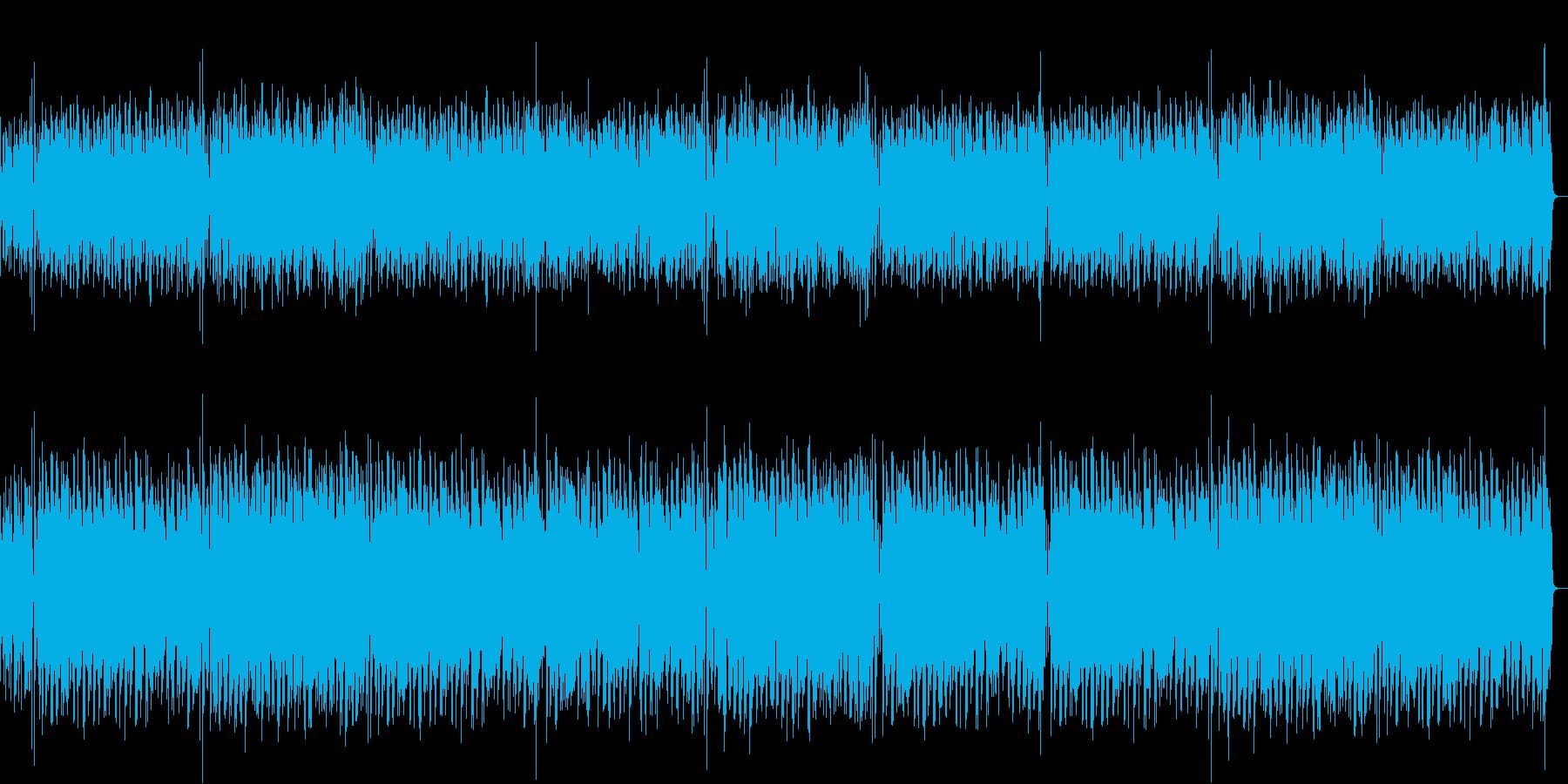 ロマンティックでミステリアスなボサノバの再生済みの波形