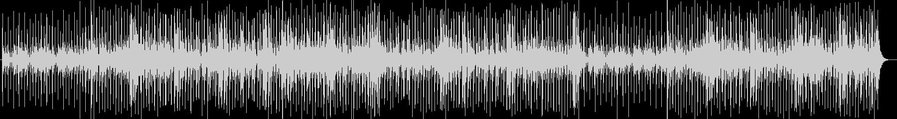 ドラマチックなメロディーのBGMの未再生の波形
