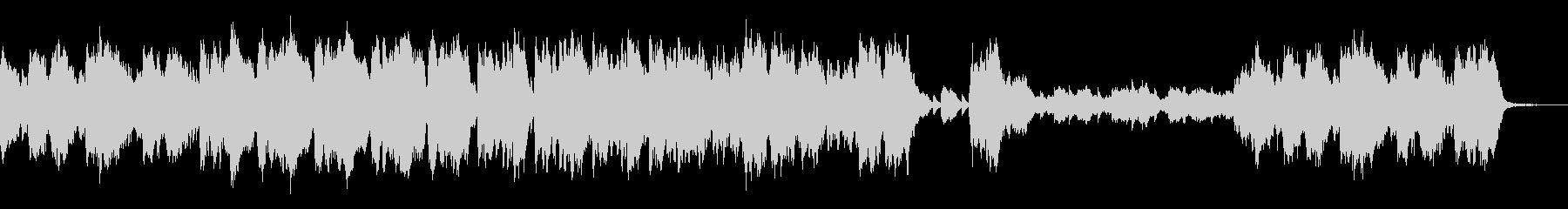 シンセベルを合わせた不穏なオーケストラ曲の未再生の波形