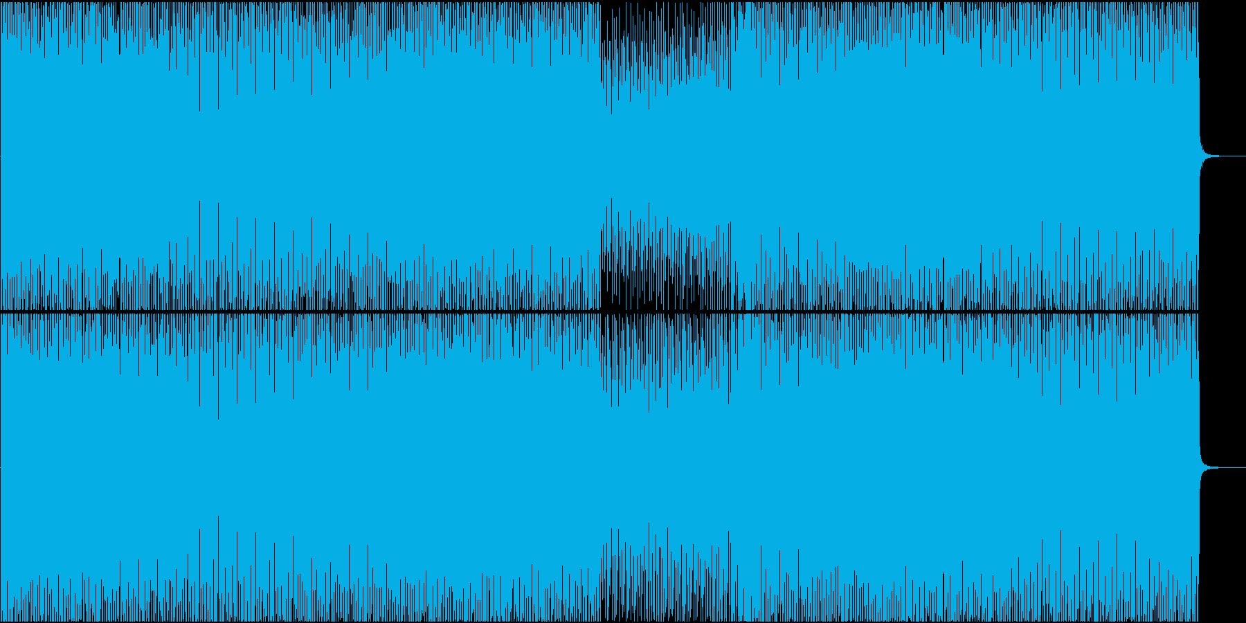 EDM系BGM(シンプルバージョン)の再生済みの波形