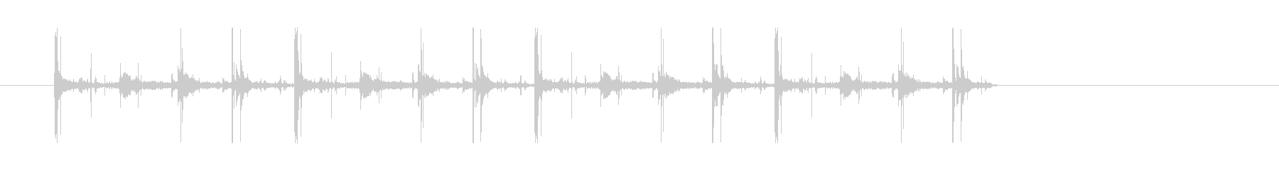 ワンショットFXの未再生の波形
