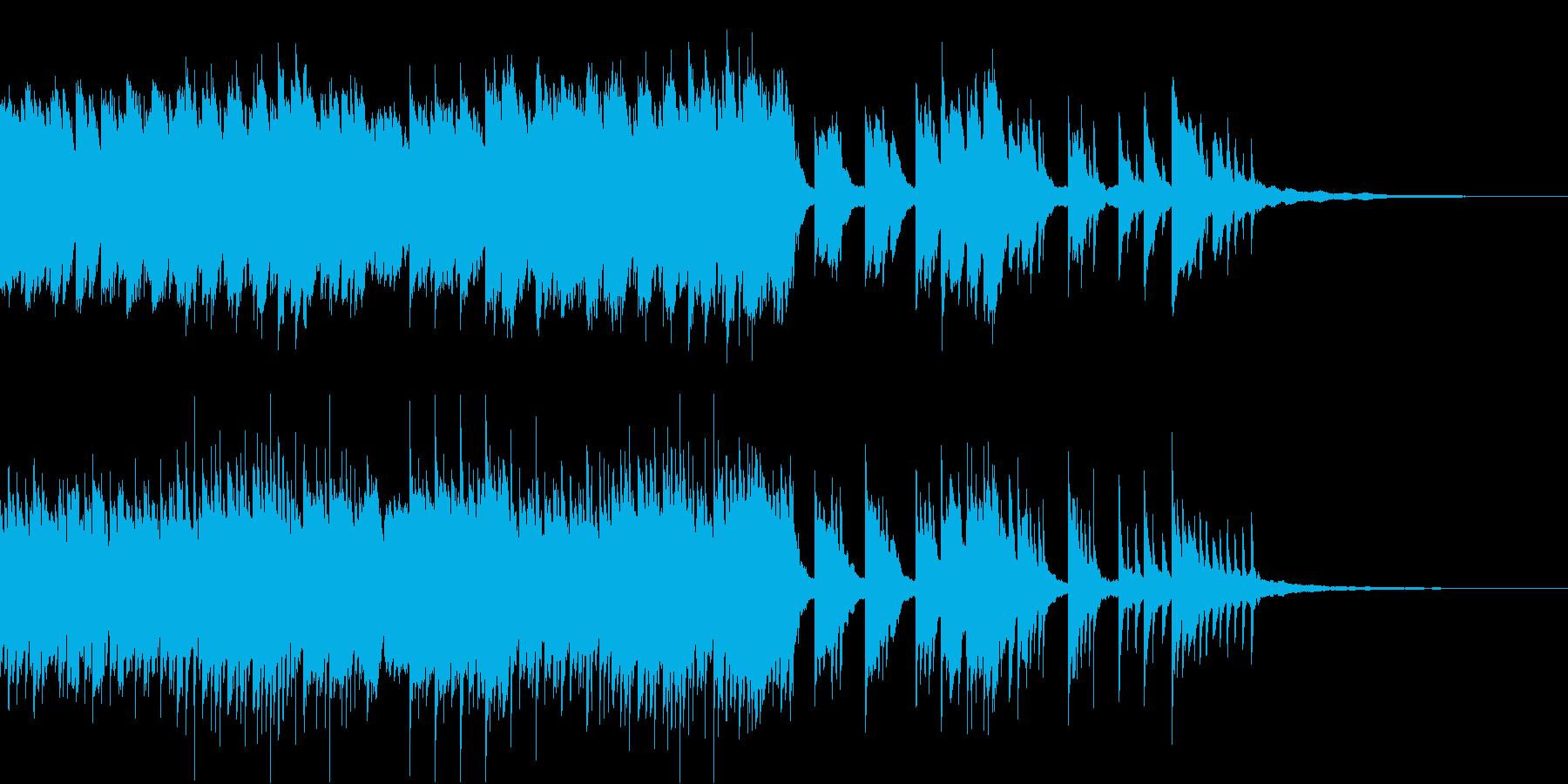 優しくあたたかなピアノバラードの再生済みの波形