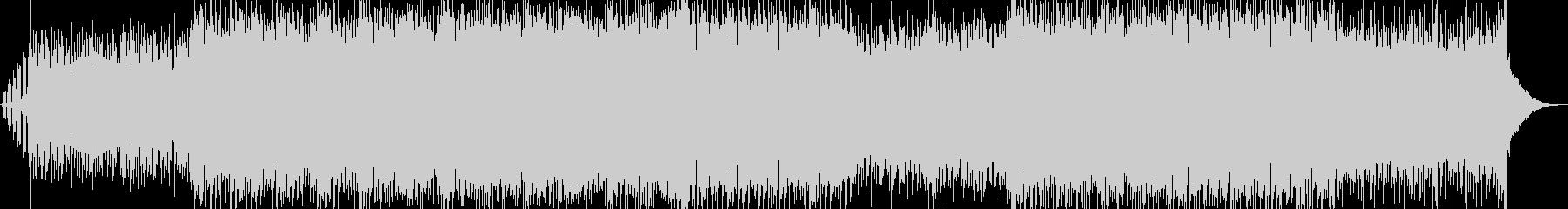 ピッコロのメロディが特徴的なダンスポップの未再生の波形