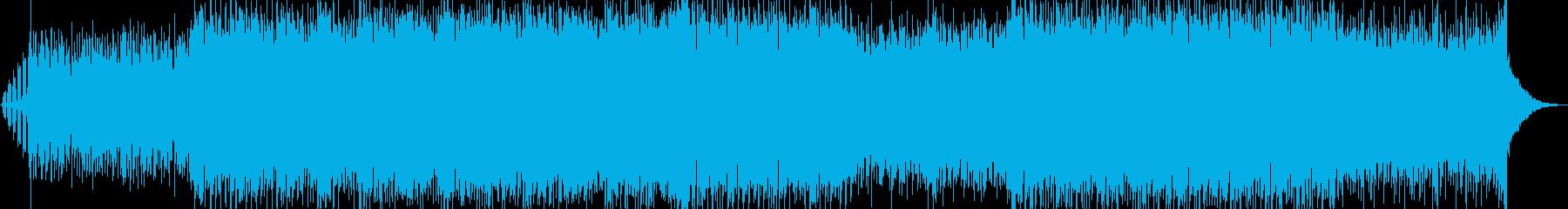 ピッコロのメロディが特徴的なダンスポップの再生済みの波形
