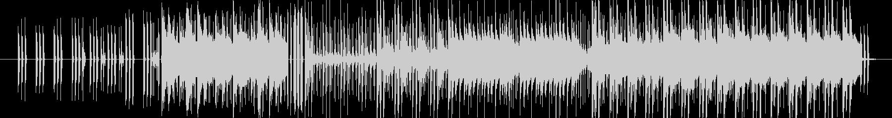 エレピのチャーミーなメロディと、ハード…の未再生の波形