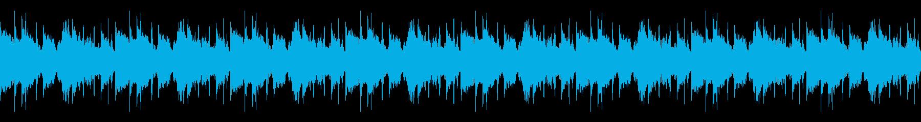 軌道ループ2の再生済みの波形