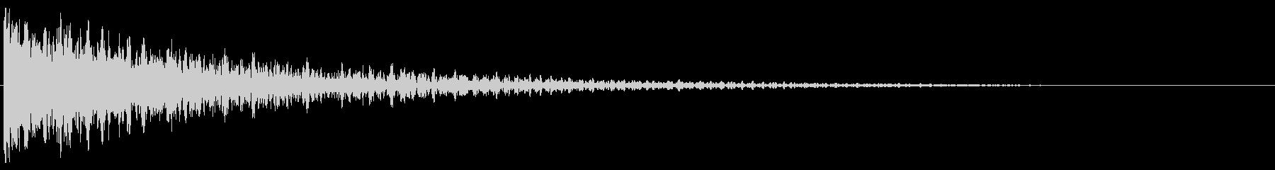 デン!/インパクト系/シンセサイザーの未再生の波形