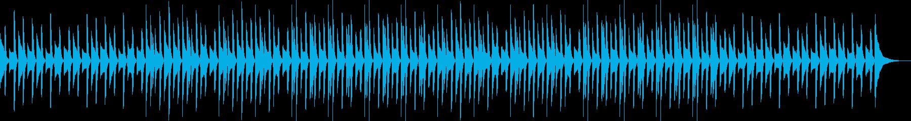 YouTube・ほのぼのピアノソロの再生済みの波形