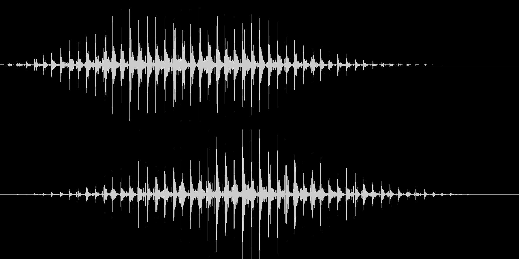「リンリンリンリン♪」の未再生の波形