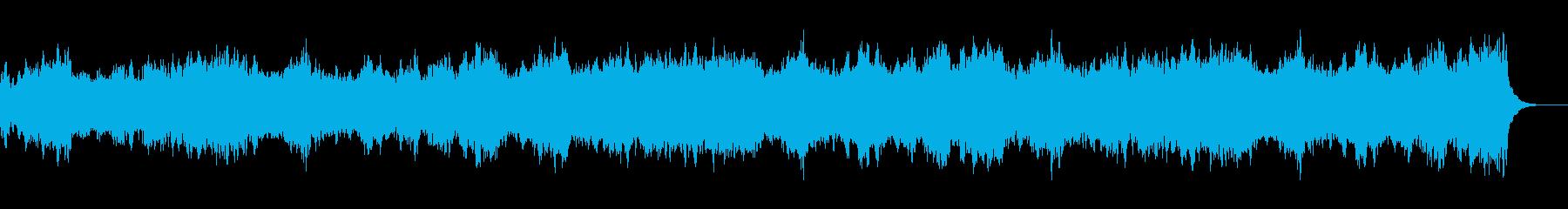 映画の感動的なシーンで流れるようなBGMの再生済みの波形