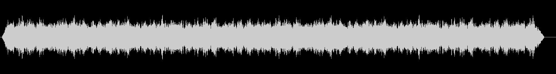 タービンモーターExt_飛行中、定数1の未再生の波形