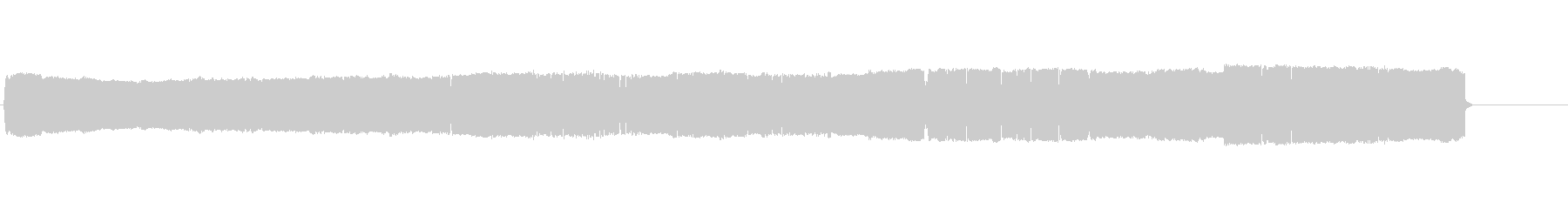持続するドアベル不快なブザーの未再生の波形
