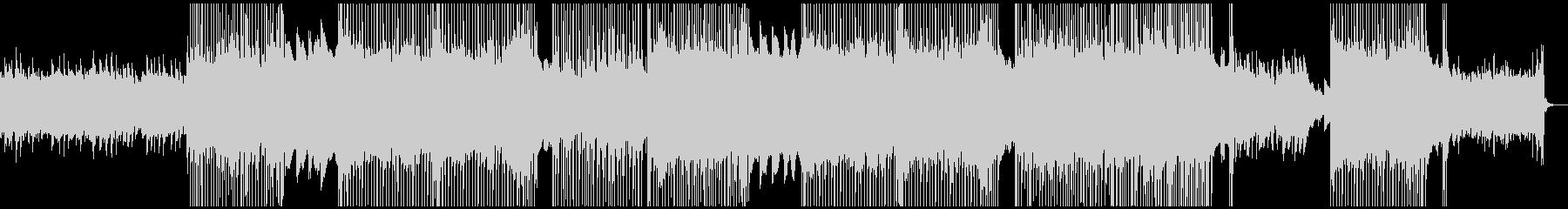 キャッチーなポップロックBGMの未再生の波形