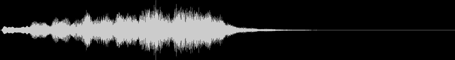 ボーイソプラノ6 アート芸術聖歌 6秒の未再生の波形