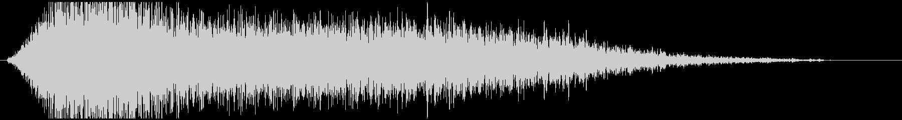 ドローン G ノイズハイ01の未再生の波形