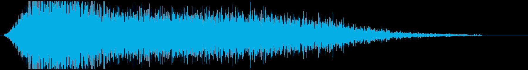 ドローン G ノイズハイ01の再生済みの波形