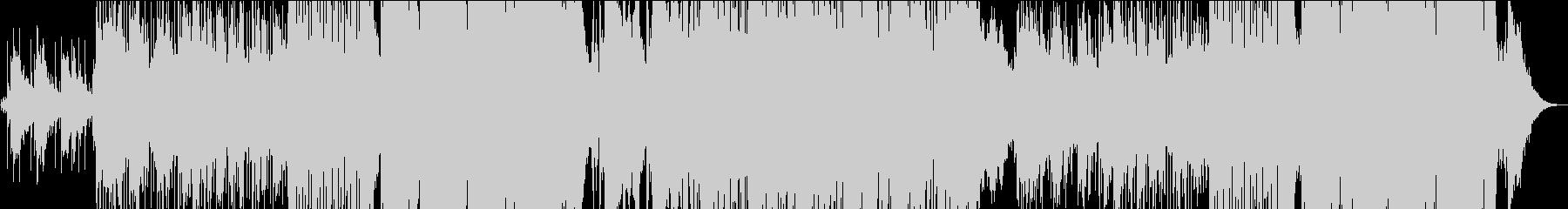 琴による和風Pop & Future Bの未再生の波形