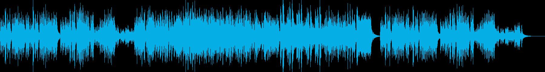 とても品のよい弦楽合奏の再生済みの波形