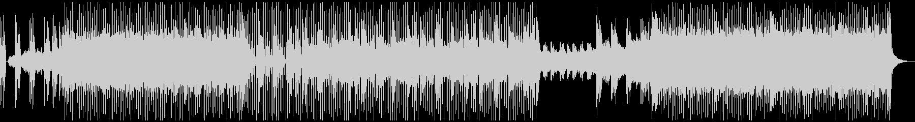 シンセサイザーメインのレトロなBGMですの未再生の波形