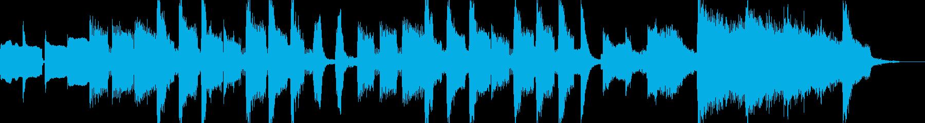 コミカルな15秒CM楽曲。の再生済みの波形