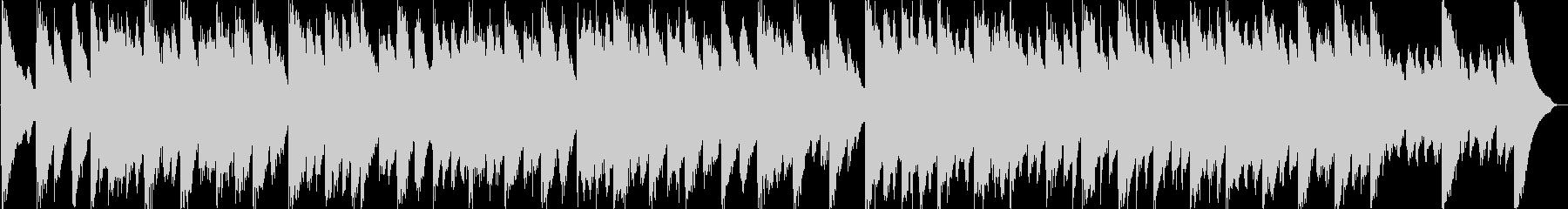 バロックのチェンバロだけのアンサンブルの未再生の波形