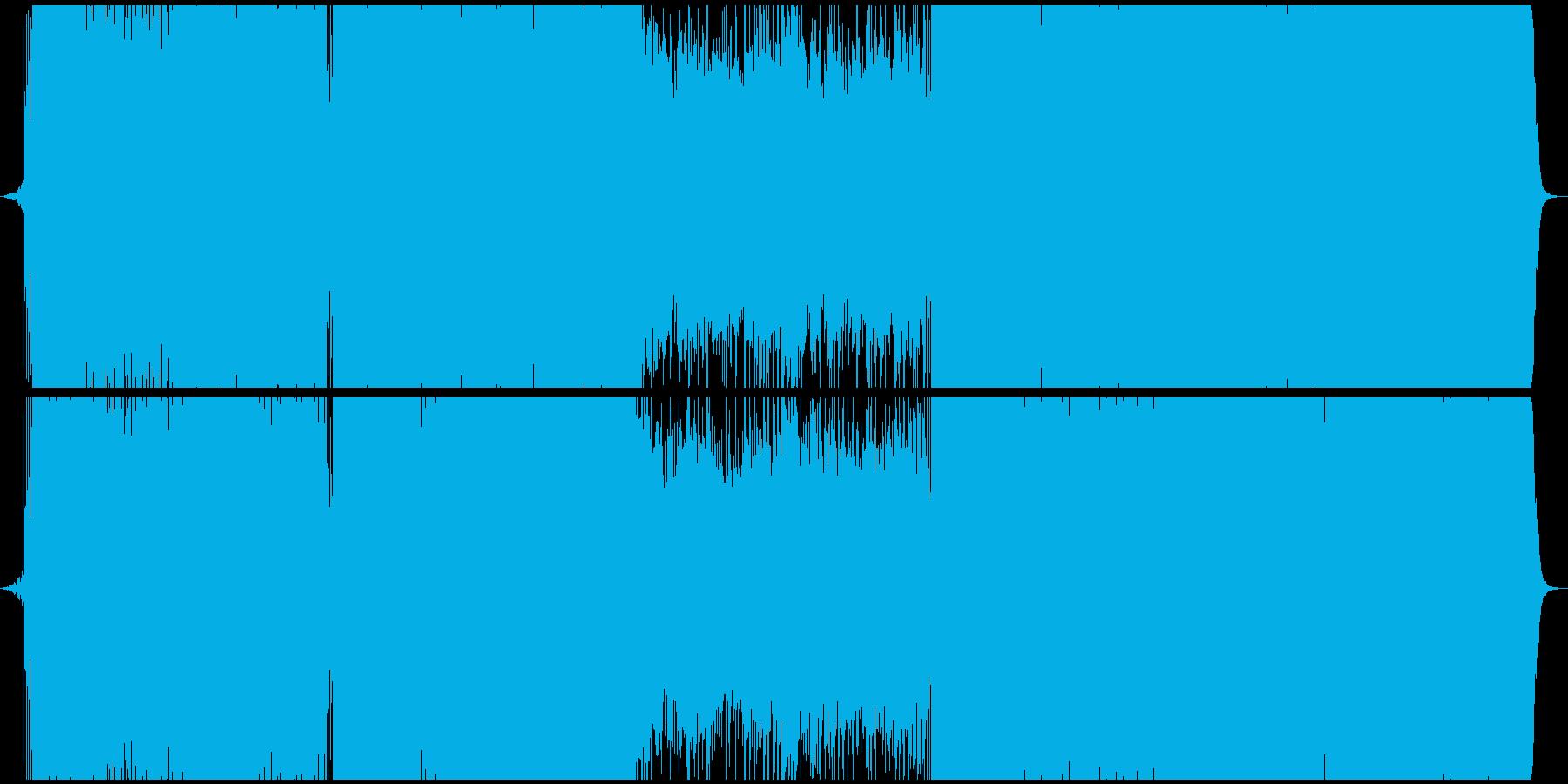明るいFuture Bassの再生済みの波形