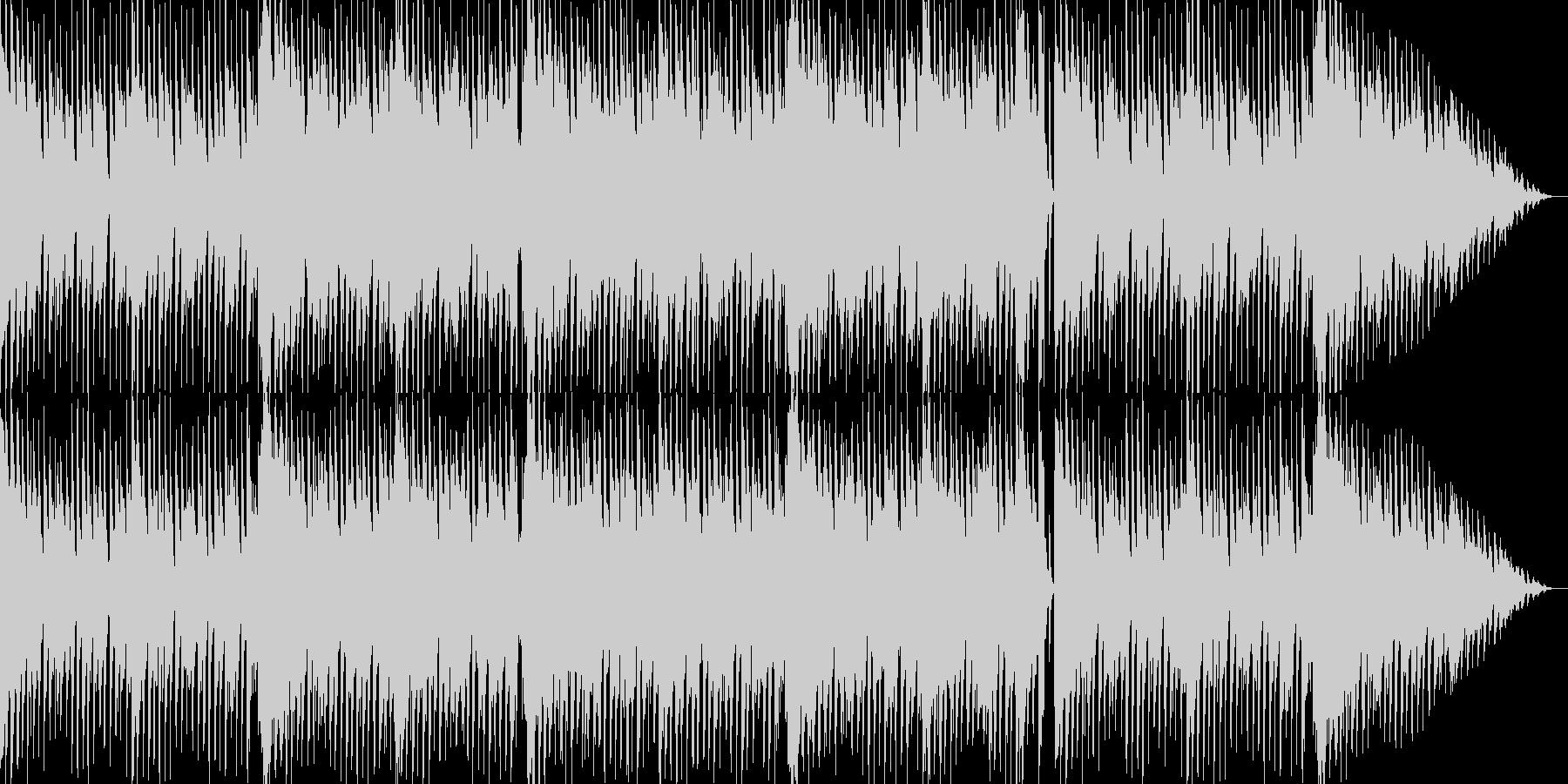 メルヘンチックな可愛いエレクトロBGMの未再生の波形