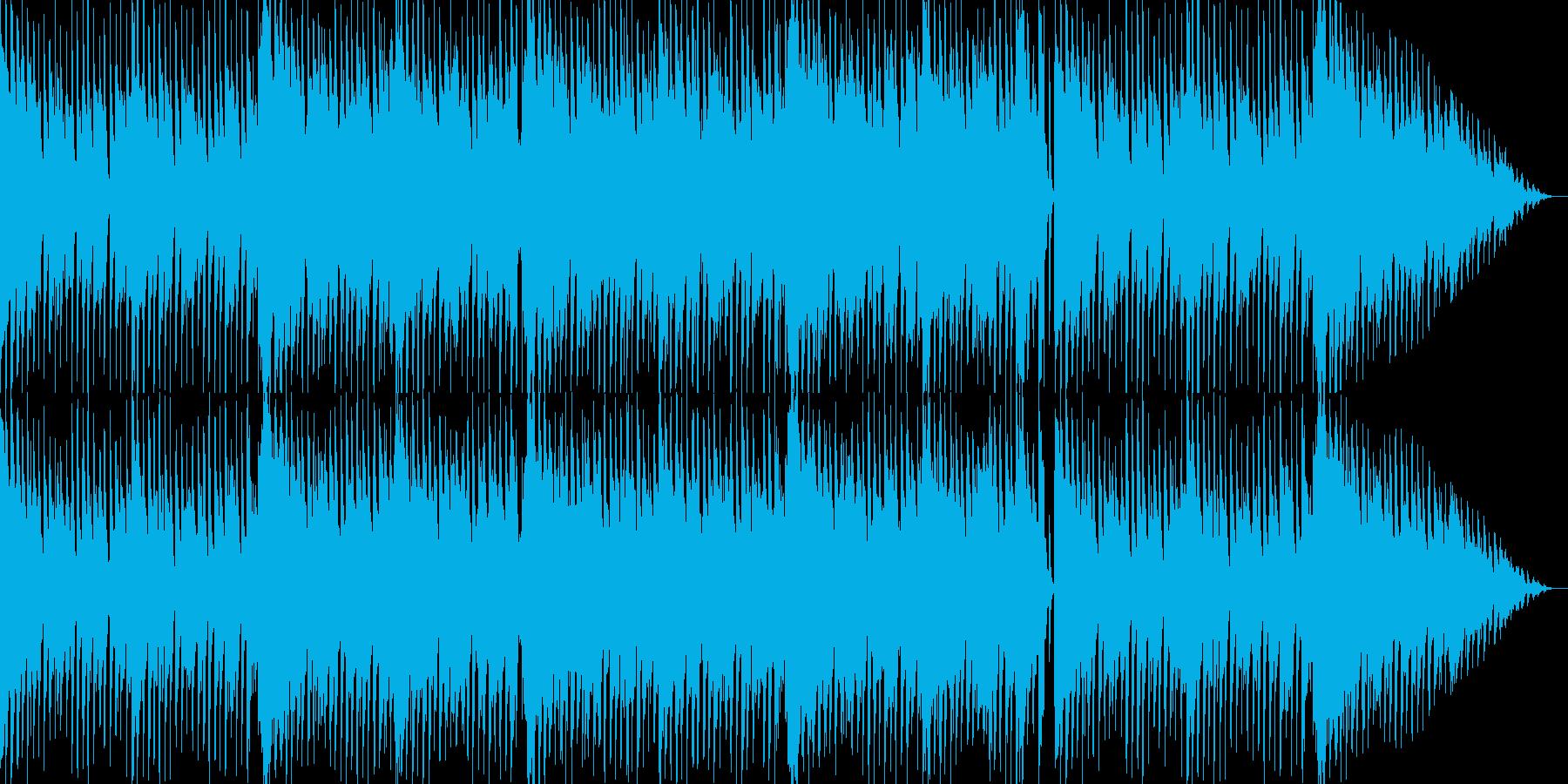 メルヘンチックな可愛いエレクトロBGMの再生済みの波形
