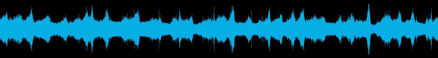 【四国最東端】灯台付近の波音 秋 ループの再生済みの波形