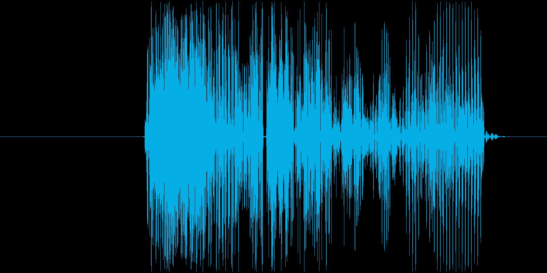 キャンセル音、エラー音の再生済みの波形