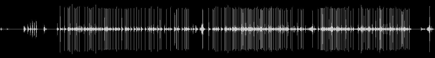1930年代のアンティークタイプラ...の未再生の波形