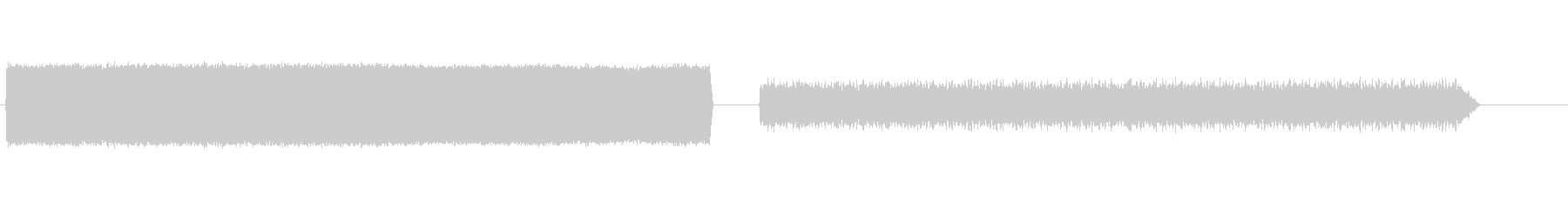 電気変圧器ハムの未再生の波形