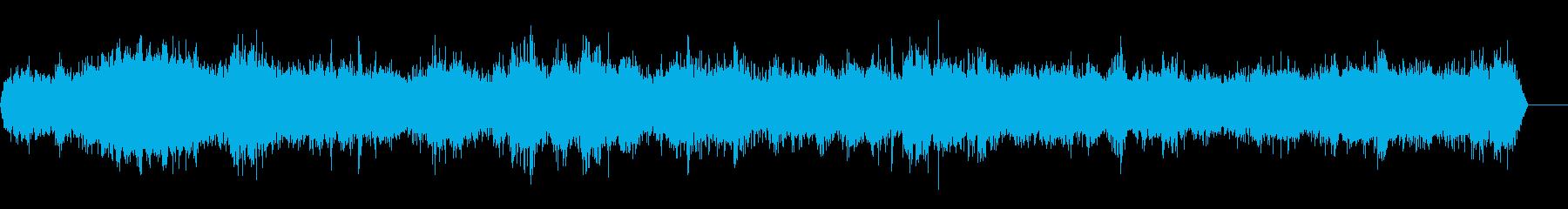声ブーuuuhhhの再生済みの波形