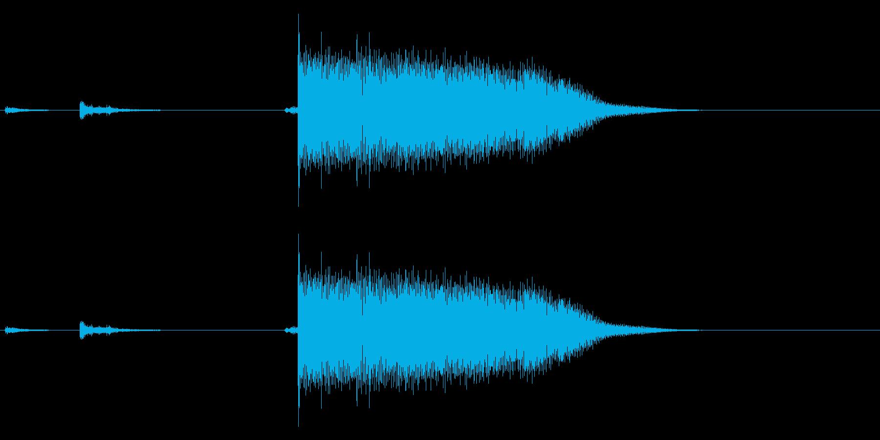【生録音】ステンレス・スプーンの音 2の再生済みの波形