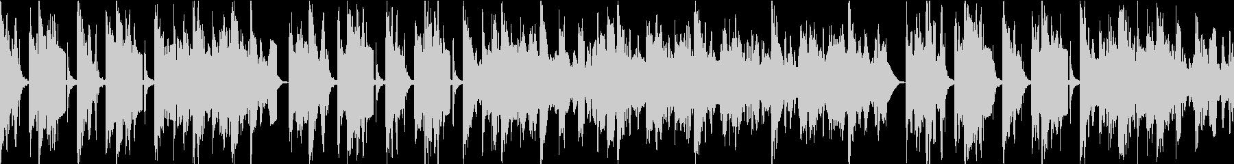民謡風サウンドロゴ向けBGMの未再生の波形