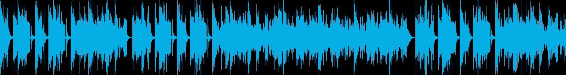 民謡風サウンドロゴ向けBGMの再生済みの波形