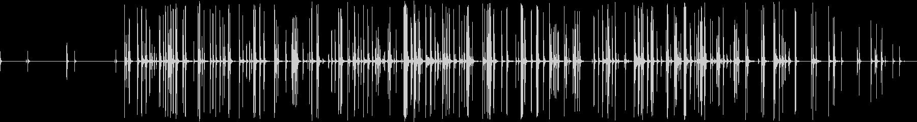 CLAY CHIMES、PERCU...の未再生の波形