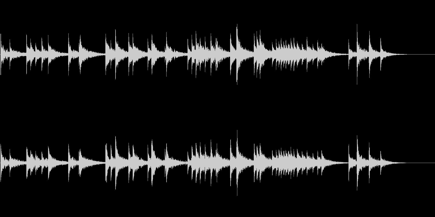 幻想的な響きを意識したお琴音源の未再生の波形