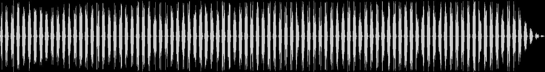フランジングスワイプ2、パンニング...の未再生の波形
