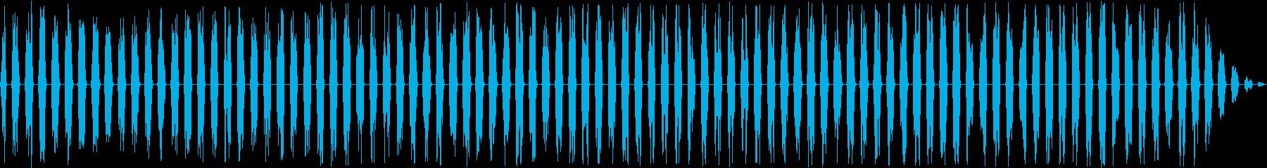 フランジングスワイプ2、パンニング...の再生済みの波形